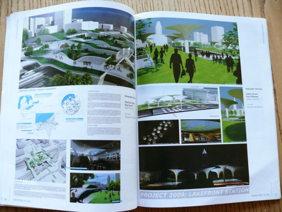 Lakefront Station in Competitions Magazine