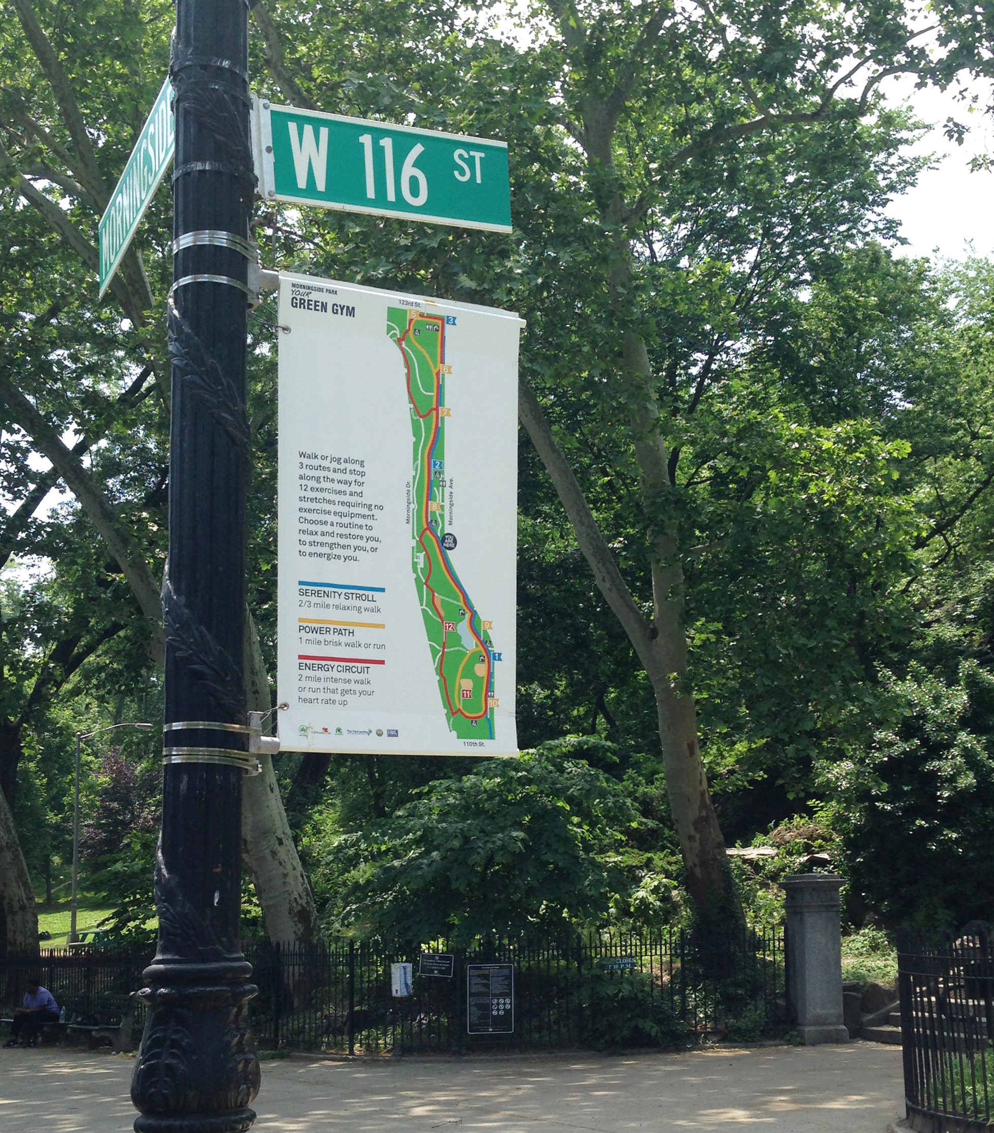 Morningside Park Green Gym